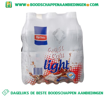 Perfekt Cola light 6-pak aanbieding
