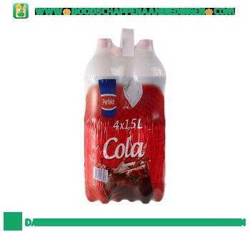Perfekt Cola regular 4-pak aanbieding