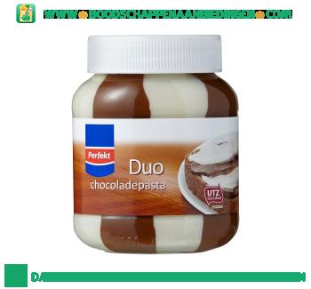 Perfekt Duo chocoladepasta aanbieding
