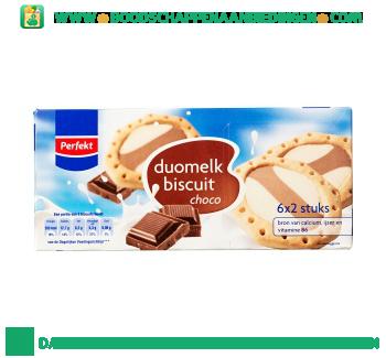 Perfekt Duomelk biscuits chocolade aanbieding