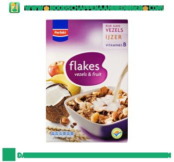 Perfekt Flakes vezels & fruit aanbieding