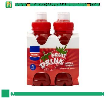 Fruitdrink aardbei framboos aanbieding