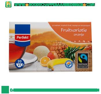 Perfekt Fruitvariatie oranje thee 1-kops aanbieding