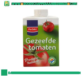 Gezeefde tomaten aanbieding