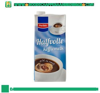 Perfekt Halfvolle koffiemelk aanbieding