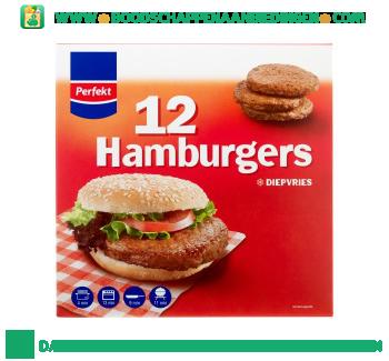 Perfekt Hamburgers aanbieding