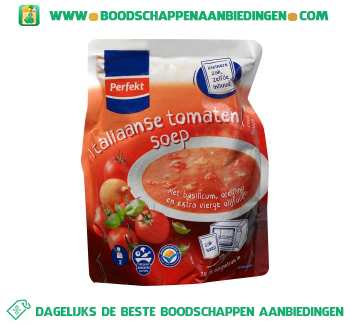 Perfekt Italiaanse tomatensoep aanbieding