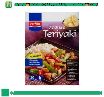 Japanse teriyaki maaltijdpakket aanbieding