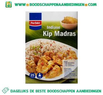 Perfekt Kip madras maaltijdpakket aanbieding