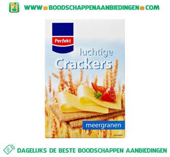 Perfekt Luchtige crackers meergranen aanbieding