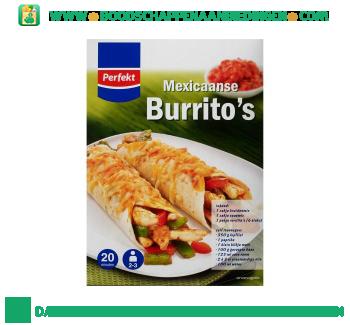 Perfekt Mexicaanse burrito's aanbieding