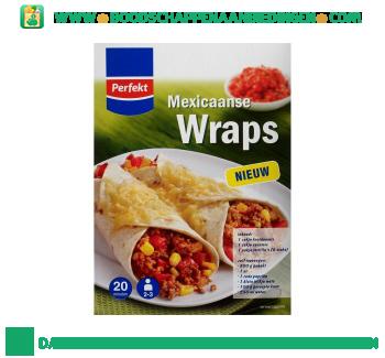 Perfekt Mexicaanse wraps maaltijdpakket aanbieding