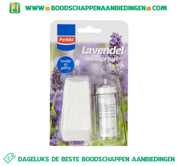Perfekt Minispray lavendel start aanbieding