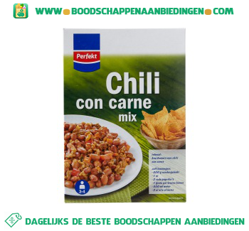Perfekt Mix voor chili con carne aanbieding