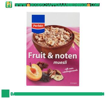Perfekt Muesli fruit en noten aanbieding