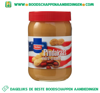 Perfekt Pindakaas extra creamy aanbieding