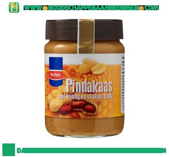 Perfekt Pindakaas met honing en stukjes pinda aanbieding