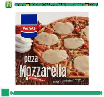 Perfekt Pizza mozzarella aanbieding