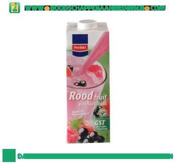 Perfekt Rood fruit yoghurtdrink aanbieding