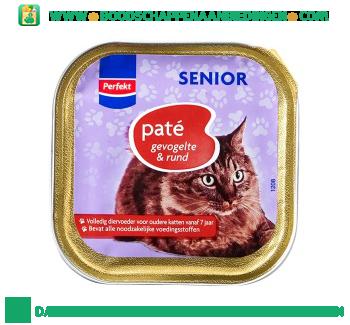 Perfekt Senior paté gevogelte & rundvlees aanbieding