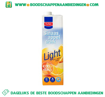 Perfekt Sinaasappeldrank light aanbieding