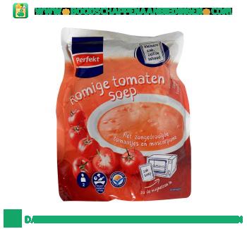 Perfekt Soep in zak romige tomaten aanbieding