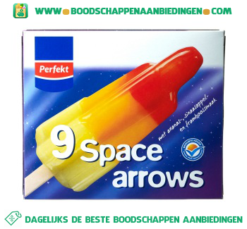 Perfekt Space arrows aanbieding