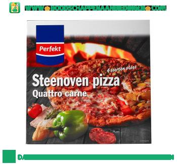 Perfekt Steenoven pizza quatro carne aanbieding