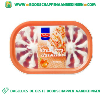 Perfekt Strawberry cheesecake aanbieding