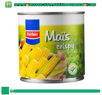 Perfekt Super sweet crispy Maïs aanbieding