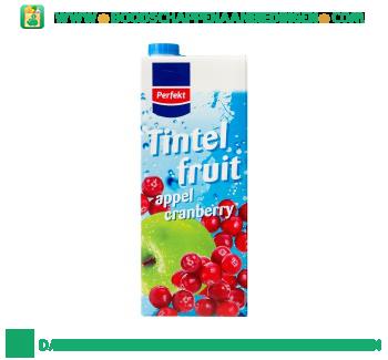 Perfekt Tintelfruit appel & cranberry aanbieding