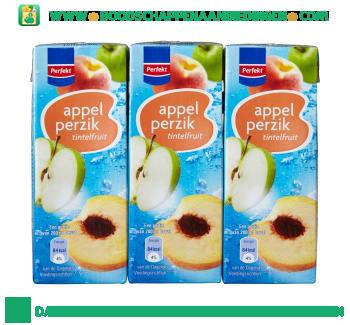 Perfekt Tintelfruit appel & perzik 6-pak aanbieding