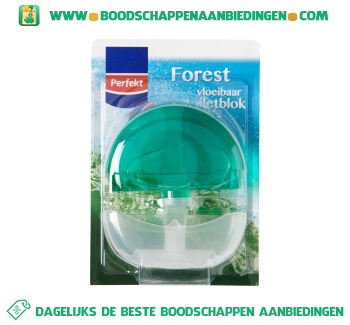 Perfekt Toiletblok forest start aanbieding