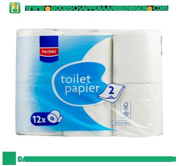 Perfekt Toiletpapier 2 laags aanbieding