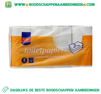 Perfekt Toiletpapier 3-laags aanbieding