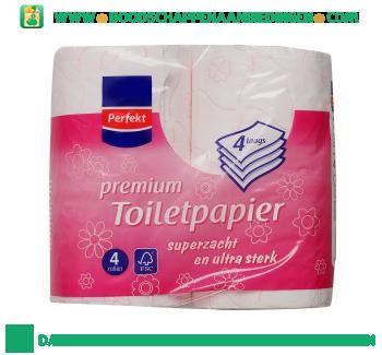 Perfekt Toiletpapier 4-laags aanbieding