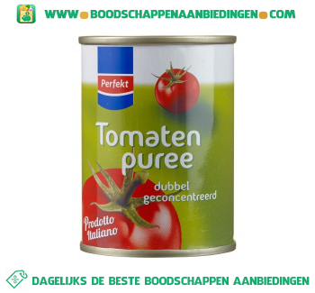 Tomatenpuree aanbieding