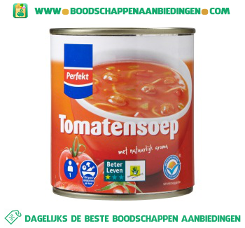 Perfekt Tomatensoep aanbieding