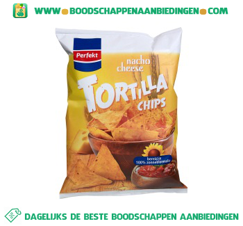Perfekt Tortilla chips nacho cheese aanbieding
