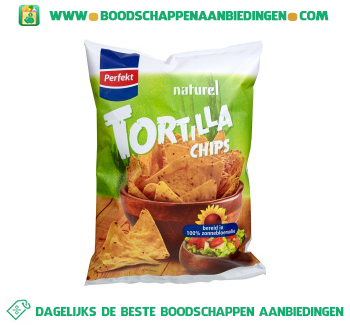 Perfekt Tortilla chips naturel aanbieding