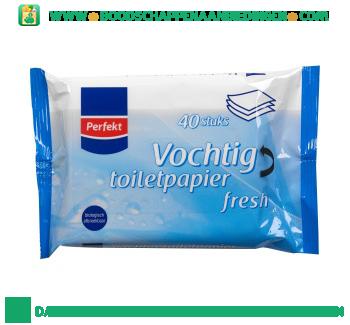 Perfekt Vochtig toiletpapier fresh aanbieding