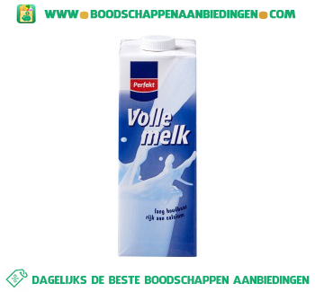 Perfekt Volle melk houdbaar aanbieding