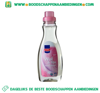 Perfekt Wasmiddel wol & fijn vloeibaar aanbieding