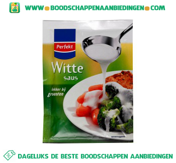 Perfekt Witte saus aanbieding