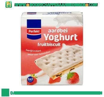 Perfekt Yoghurt fruitbiscuits aardbei aanbieding