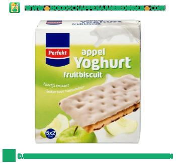 Perfekt Yoghurt fruitbiscuits appel aanbieding