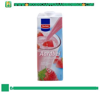 Perfekt Yoghurtdrink aardbei aanbieding