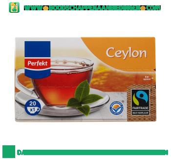 Perfekt Zwarte ceylon thee 1-kops aanbieding