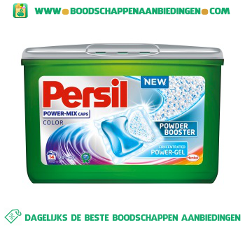 Persil Powermix caps color aanbieding