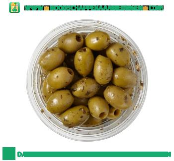 Pesto olijven aanbieding